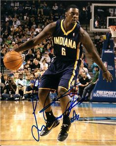 Lance Stephenson Autographed 8x10 Photo #SportsMemorabilia #IndianaPacers