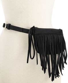 Inc International Concepts Fringe Fanny Pack, Only at Macy's