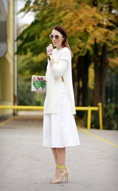 Side slits sweater by Claudine Ro on Beauty Walks