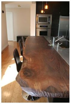natural wood bar If we wind up with a lot of clean, mid-century lines and color blocks, some natural wood will offset that nicely. #general