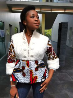 Short African Dresses, African Blouses, African Tops, Latest African Fashion Dresses, African Print Fashion, African Wear, African Attire, Women's Fashion Dresses, African Prints