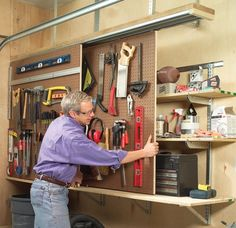 woodworking shop in shed - Google Search