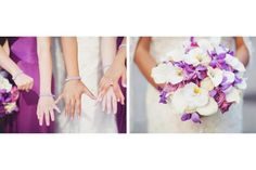 Bridesmaids love to sparkle in our single crystal stacking bracelets  $75 Lucida Photography