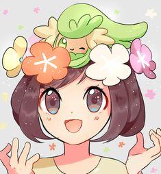 Tags: Fanart, Pokémon, Female Protagonist (Pokémon Sun/Moon), Comfey