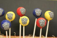 Transformers Cake Pops by Sweet Lauren Cakes, via Flickr