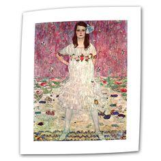 Eugenia Primavesi by Gustav Klimt Painting Print on Canvas