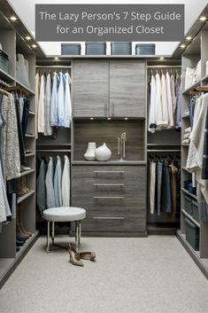 Beau New Closet! What Better Way To Kick Off The New Year Then Redesigning You  Closet! Time To Get Rid Of The Clutter And Read These 7 Steps To An  Organized ...