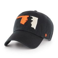 OSU's famed mascot Pistol Pete makes a subtle silhouetted appearance in this patriotic interpretation utilizing the school's bright color Oklahoma State Football, Oklahoma State University, College Football, Cowboy Love, Cowboy Gear, Desmond Mason, Cowboys Gifts, Go Pokes, Pistol Pete