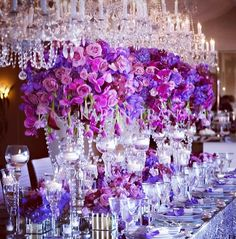 #KarenTranEvents via IG #purpleweddings