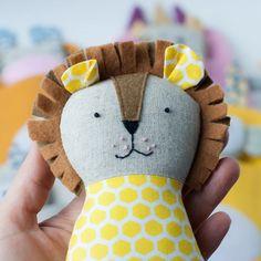 Animal doll sewing patterns PDF tutorial Animal stuffed | Etsy