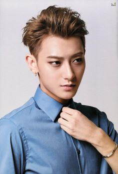 Tao from EXO as Shirakawa Katsuyuki (Inajitsu) Totally. #ao3tgate