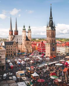 10 Best Places to Visit in Germany - Tour To Planet Halle, Berlin City, Heart Of Europe, Walled City, Romanesque, Germany Travel, Beautiful Beaches, Cool Places To Visit, Night Life