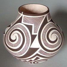 Pueblo pottery Maine