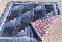 15 Ideas for jean quilting ideas Hand Quilting Patterns, Quilting Projects, Quilting Designs, Quilting Ideas, Sewing Projects, Quilt Baby, Blue Jean Quilts, Denim Quilts, Shirt Quilts