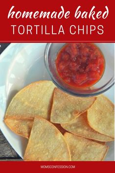 Homemade Baked Tortilla Chips Recipe Under 20 Minutes Best Dinner Recipes, Fall Recipes, Gourmet Recipes, Mexican Food Recipes, Snack Recipes, Dip Recipes, Summer Recipes, Best Peanut Butter Brand, Peanut Butter Brands