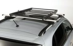 Mitsubishi Luggage Carrier, Black Coated Steel - MZ535826