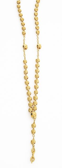 Shop online luxury Jade Jagger jewellery and fine jewellery collections. Designed by Jade Jagger. Skull Necklace, Gold Necklace, Jade Jagger, Gold Skull, Fine Jewelry, Jewellery, Jewelry Trends, Bling, Chain