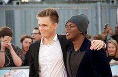 Caspar & KSI at their premiere