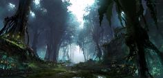 Forest, HeeWann Kim on ArtStation at http://www.artstation.com/artwork/forest-6fccbd44-7cb1-45d5-9a33-afac1579ebc7