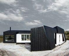 architecture norway   Atrium cabin on Vardehaugen, Åfjord