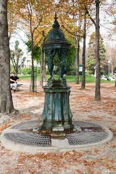Wallace Fountain Paris