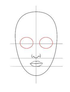 Bildtitel Draw a Face step1 5