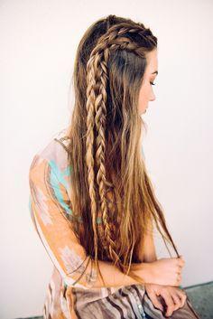 Long boho braids