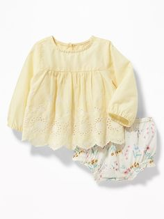 Babydoll Blouse & Bloomers Set for Baby