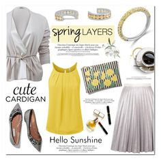 """Cute Spring Cardis"" by blossom-jewels ❤ liked on Polyvore featuring Brunello Cucinelli, Antipodium, Clare V., Maryam Keyhani, contestentry, cutecardigan, Blossomjewels and springlayers"