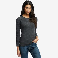 Lightweight Raglan Crew: comes recommended by Jessie Sebor, Women's Running editor