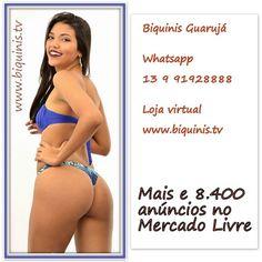 Biquínis Chiquita Bacana do Guarujá é a maior loja de biquínis atacado e varejo do Brasil. A única onde você compra biquínis no varejo pelo preço de atacado.Mais de 50.000 biquínis na loja virtual www.biquinis.tv e nos mais de 8.400 anúncios do Mercado Livre nesse link https://goo.gl/Vms7sn  Para todas as informações e vendas   Whatsapp 13 9 9192 8888