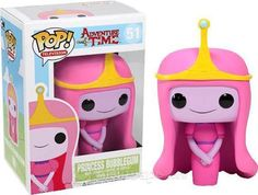 Crunchyroll - Store - Adventure Time Pop Vinyl Figure: Princess BubbleGum