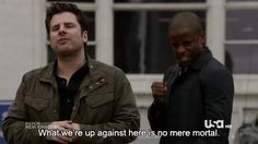 This is the kind of dysfunction that brings me pure unadulterated joy 😂😂😂😂 Shawn And Juliet, Shawn And Gus, Shawn Spencer, Psych Memes, Psych Tv, Fantastic Show, Great Tv Shows, Pineapple Tea, Real Detective
