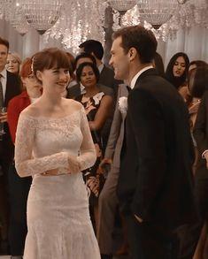 Fifty Shades Series, Fifty Shades Movie, Fifty Shades Of Grey, Gray Weddings, Christian Grey, Free Wedding, Jamie Dornan, Lgbt, One Shoulder Wedding Dress
