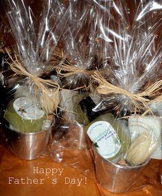 Fathers day baskets