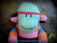 sock monkey doll sock monkey sockmonkey sock by socksandmonkeyhugs, $25.00