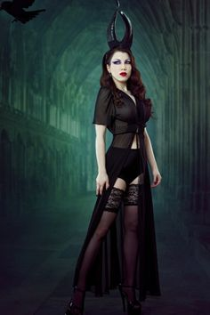 Elle Sheer Robe by Kiss Me Deadly