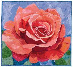 Peach Rose quilt