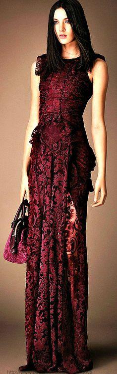 Gorgeous ~ Burberry Prorsum