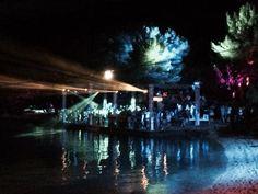 Dancing under the stars. Electric Elephant, 2014. Tisno, Croatia.