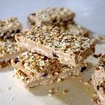 Vegan Oatmeal Cookie Almond Butter Bars & A sneak peek at my new KITCH! (GF)