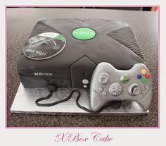 XBox Cake Xbox Cake, Cakes For Boys, Birthday Cake, Birthday Cakes, Cake Birthday