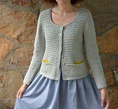 Ravelry: Aster Cardigan pattern by Nancy Eiseman