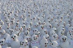 Crowdsourcing for snowmen