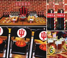 """""""Slam Dunk"""" Indiana Basketball Party by PRO member Jamee Bryant of Setting the Mood LLC.! http://hwtm.me/YZLHZK"""