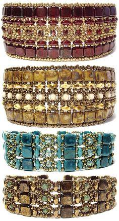 Deb Roberti's Brocade Bracelets Pattern