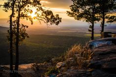Red Bluff overlook Petit Jean State Park. Pitts Photography