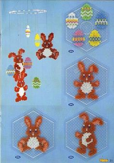 Crafts Easter – Famous Last Words Quilting Beads Patterns day graphic Perler Bead Designs, Perler Bead Templates, Hama Beads Design, Pearler Bead Patterns, Perler Bead Art, Perler Patterns, Pearler Beads, Fuse Beads, Quilt Patterns