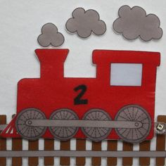 Ride the Rails  ePattern for Print and Play Felt by copycrafts, $6.00