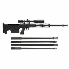 Desert Tactical Arms Hard Target Interdiction System. Anti-Material and over a mile of range in a more compact and lightweight frame.